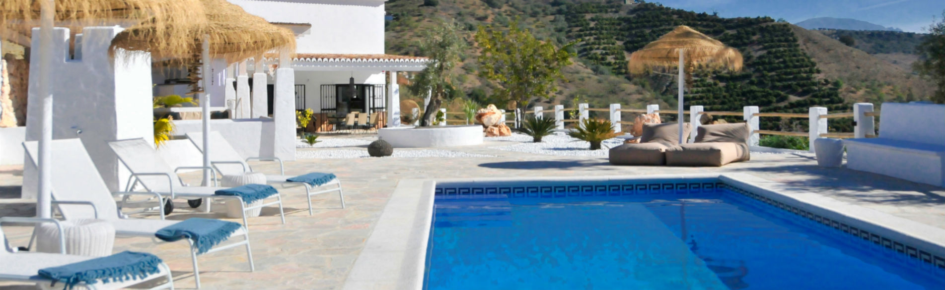 Villa Pepita Andalusie - zwembad home